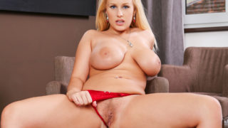 Gorgeous Angel Vicky In Her Red Underwear
