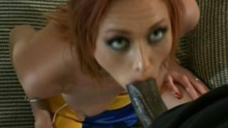 Ultra sexy hooker Donna Marie gives blow job and gets pussy hammered doggy style